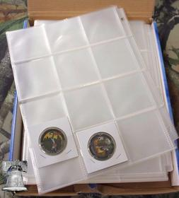 10 Coin Holder 12 Pocket Page 2.5 x 2.5 GUARDHOUSE Poker Chi