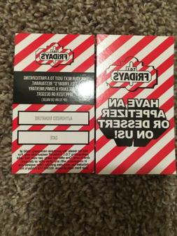 10 free appetizer dessert coupons gift no