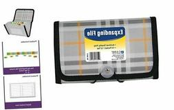 13-Pocket Expanding File, Coupon Size, Includes Tabs, 1 File