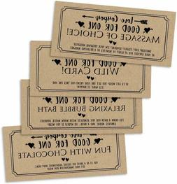 15 IOU Love Voucher Coupons For Him or Her, Husband Wife Boy