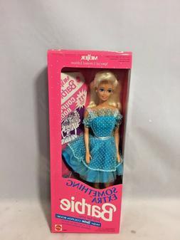 "Mattel 1992 Barbie- ""Something New""- Meijer Barbie Coupon Bo"