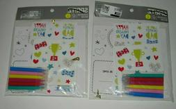 2 Spritz Fathers Day DIY Decorating Kit Coupon Book Dad is m