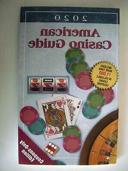 2020 AMERICAN CASINO GUIDE  only 3 used