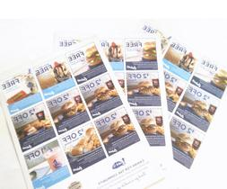 Coupon sheets - Culver's-ButterBurger Get One Offer Include
