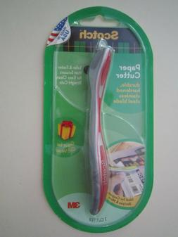 3M Scotch Paper Cutter Tool Made in the USA For Coupons Gift