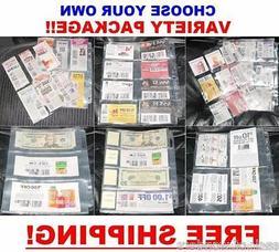 65 extreme coupon sleeves binder holder organizer