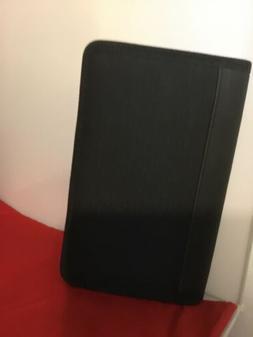 7-Pocket Expanding Zip Fabric File Black Wallet Size coupons