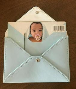 Hallmark Blue Envelope Wallet Holder ~ Coupon  Photo Picture