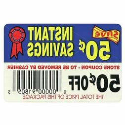 Bollin Label 50¢ Off Instant Savings Coupon Adhesive Food L