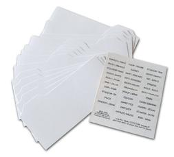 coupon divider cards