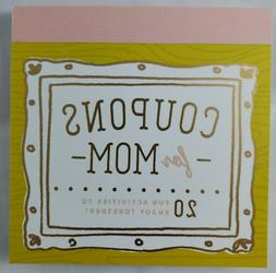 Coupons for mom 20 fun activities to do together Book Mother