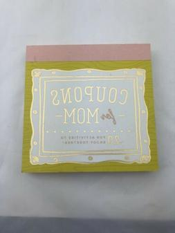 Coupons For Mom Mothers Gift Gifts For Her Coupons SNG