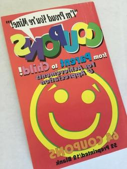 Coupons From Parent to Child 64 Coupons Booklet New