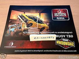 Dirt Showdown PC Steam Voucher Card