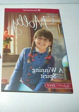 American Girl Doll Beforever Molly's Meet Book A Winning Spi