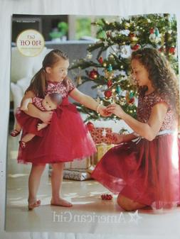 American Girl Doll Catalog November 2019 $10 off coupon expi