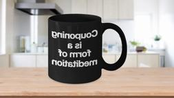 Extreme Couponing Mug Black Coffee Cup Funny Gift for Mom Ar