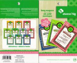 Girl Scouts Coupon Pad Reward Book Colorbok 10 Coupons Incen