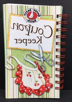 Gooseberry Patch Coupon Keeper Kitchen Book Coupon Organizer