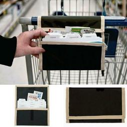Holder Wallet Receipt Organizer Durable Fabric Grocery Coupo
