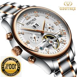 Hot Fashion Mechanical Watches Men Top Luxury Brand Stainles