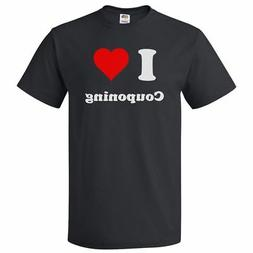 I Love Couponing T shirt I Heart Couponing Tee