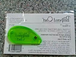 Pampered Chef i-Slice Lime Green Cutter Coupon Cutting Tool