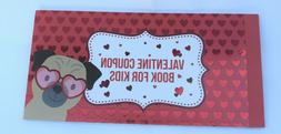 Kids Valentines Coupon Book Rewards 20 Coupons