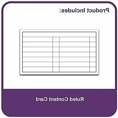 13-Pocket File, File, Plaid Design