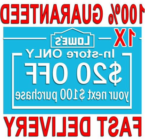 1x 20 off 100 fast delivery coupons1