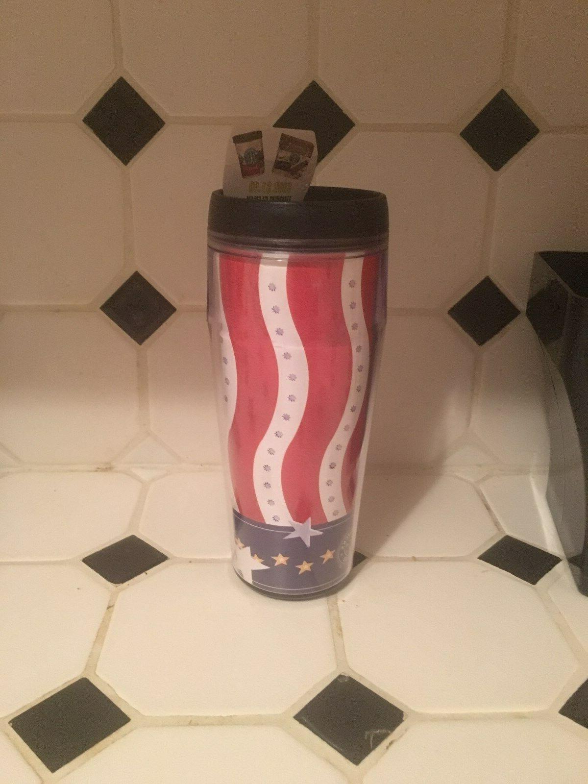 2002 american flag rare tumbler nwt