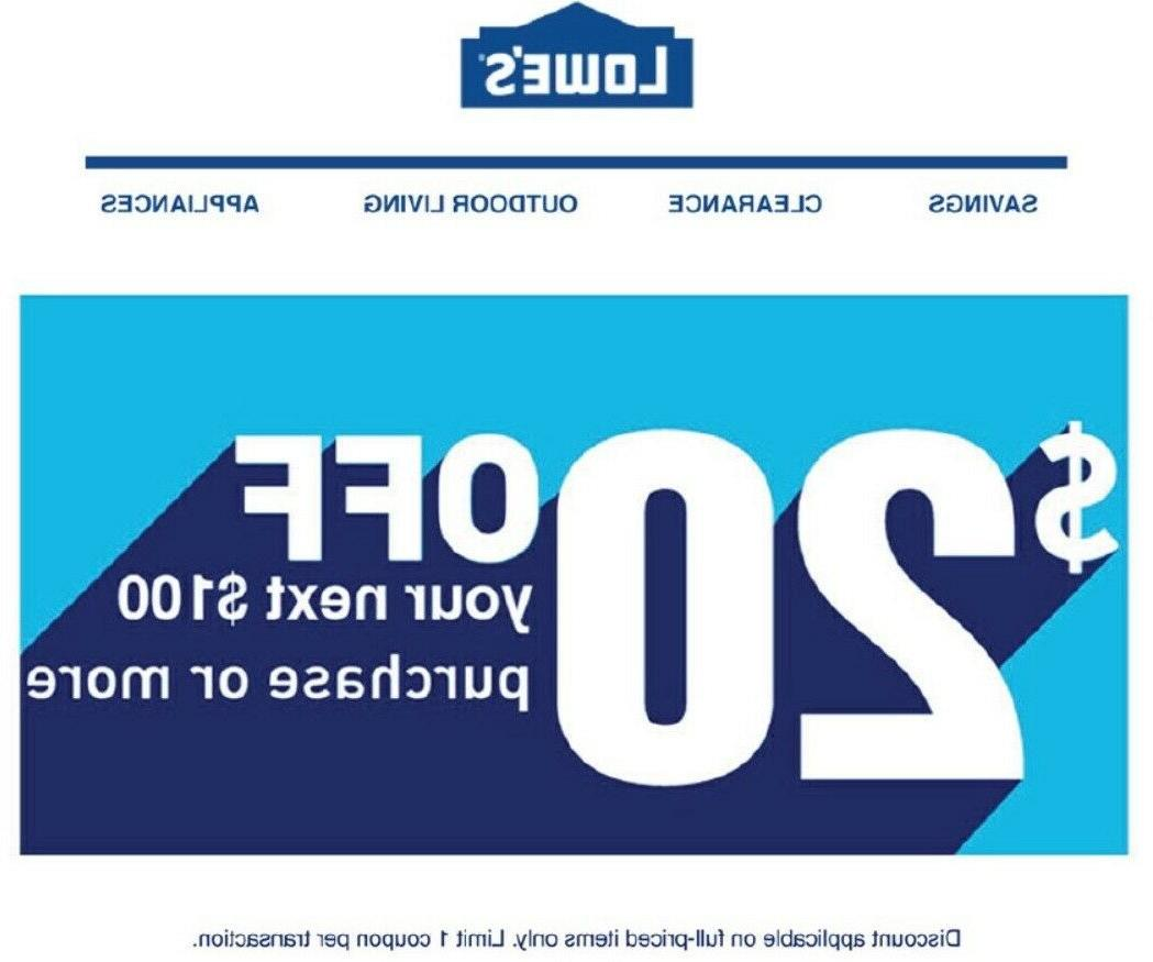 3x 20 off 100coupon online instore forpros