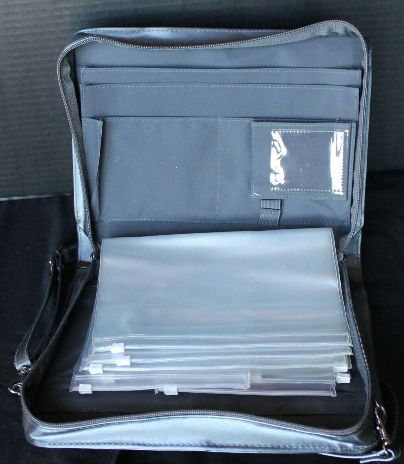 consultant sample binder w shoulder strap great