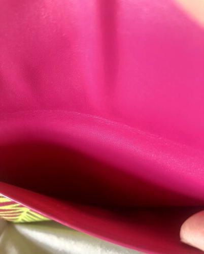 Vera Bradley Envelope Wallet Palm Fronds Organizer Receipts RARE