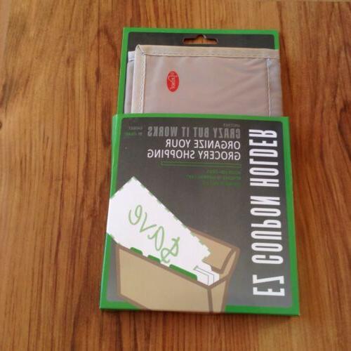 Jokari Ez Coupon Holder Tan Taupe Shopping Organizer wallet