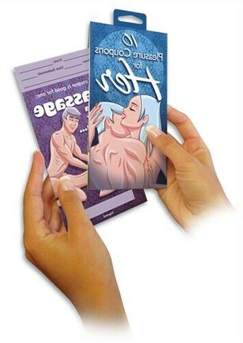 pleasure coupons for her
