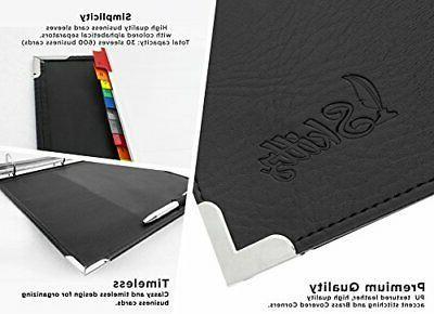 Skittz Book Coupon Leather W/Sleeves 600 Storage