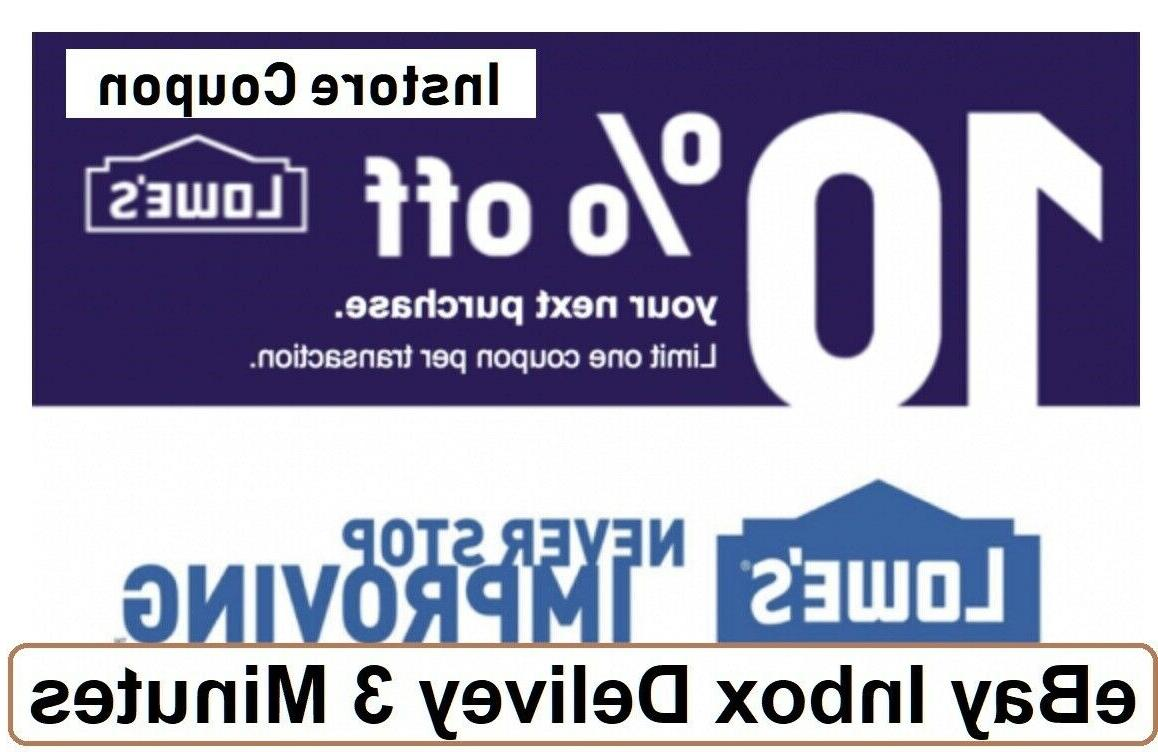 one 1x 10 percent off1coupons instore only