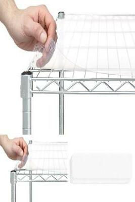 wire shelf liners 18 x 48 frosted