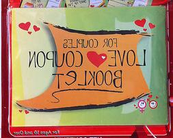 LOVE Coupon Booklet for Couples