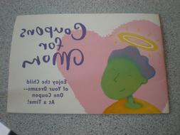 NEW 1995 HALLMARK CARDS MOM COUPON BOOK VINTAGE BOOKLET CHIL