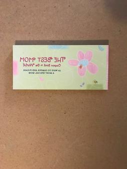 NEW HALLMARK CARDS The Best Mom Coupon Book In The World VIN