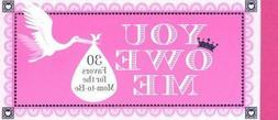 NEW Coupon Book:  You Owe Me : 30 Favors for the Mom-to-Be b