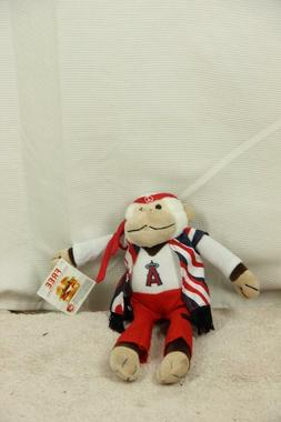 New MLB California LA Angels Groovy Rally Monkey Jack In The