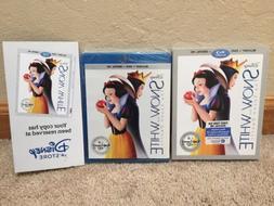 NEW Sealed Disney Snow White Blu-ray DVD Digital HD Exclusiv