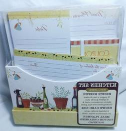 New Seasons Kitchen Set:Recipe Keeper Set Meal Planner, Reci