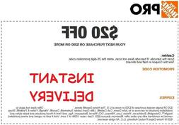 one 1x 1coupon 20 off 200 online