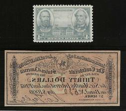 ORIGINAL 1864 $30 CIVIL WAR CONFEDERATE BOND INTEREST RECEIP