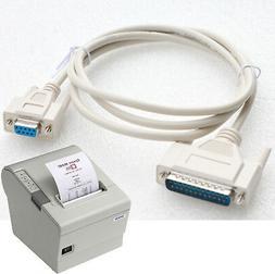 Serial Cable Epson Bixolon Samsung Pos Voucher Printer Custo