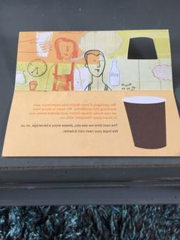 ten 10 gift cards recovery certificate drink